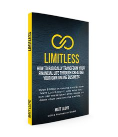 Limitless Prelaunch -  You can read this new book from your beach blanket!  How to radically transform your financial life.  Free Hardcopy Book U Pay S/H