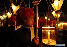 light festival in myanmar - Google Search