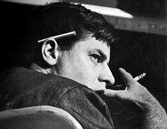 Jerry Lewis taking a cigarette break, 1960′s.