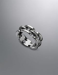 David Yurman | Men | Rings: Cable Link Band Ring Ohhh David everything you do is awesome!!