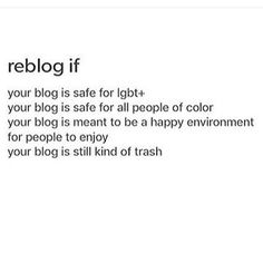 Espescially the one about trash.