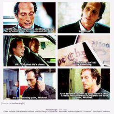 """LoL, that description underneath. """"Alex Mahone the ultimate Michael Scofield fangirl."""""""