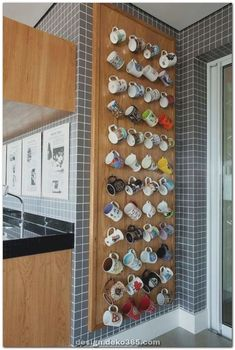 Kitchen Decor Apartment and Pics of Make Kitchen Decor Ideas. Kitchen Decor Apartment and Pics of Make Kitchen Decor Ideas. Home Decor Kitchen, Kitchen Furniture, Diy Furniture, Decorating Kitchen, Mug Storage, Kitchen Storage, Kitchen Nook, Kitchen Counters, Kitchen Pics