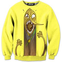 "Presenting ""The Lemon"" Sweatshirt by Jouste. Get your Adventure Time swag on! :)"
