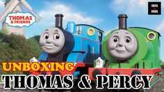 Unboxing Thomas and Percy from Thomas and Friends Collectible Railway!