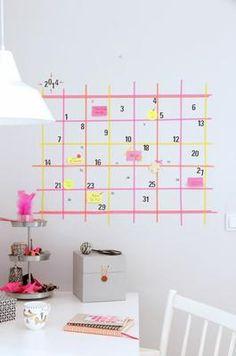 calendario organizar las tareas