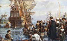 America's Founding Fathers were actually Essex boys, with Plymouth accused of 'hijacking' the Mayflower, the ship that carried them to North America nearly 400 years ago, according to claims.