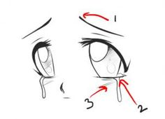 how to draw anime expressions step 3 Guy Drawing, Manga Drawing, Drawing Reference, Manga Art, Painting & Drawing, Anime Art, Drawing Tips, Manga Eyes, Anime Eyes
