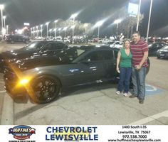 #HappyAnniversary to Trista  Anthony  on your #Camaro from Everyone at Huffines Chevrolet Lewisville!