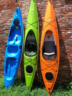 We have a great selection of previously used, demo kayaks for sale.