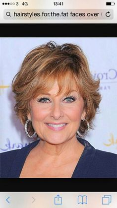 Popular hairstyle for more mature ladies. X