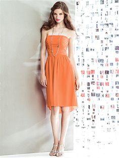 Social Bridesmaids Style 8136 http://www.dessy.com/dresses/bridesmaid/8136/