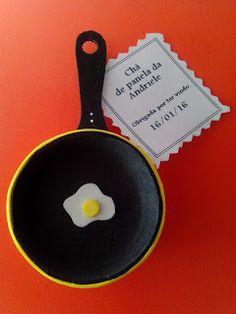Herthal art's: Lembrancinha de chá de panela frigideira de e.v.a ...