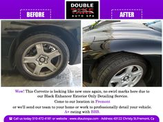 Sunlight, weather and pollution damage can degrade painted finishes over time. Therefore, we provide a black enhancer detailing service that comes with 100% handwash, claybar treatment, tires scrub cleaning and chrome polish, to make your black vehicle look the way it should #dtautospa  #autodetailing #autodetail #carwash #corvette #corvettes #speed #turbo #corvetteclub #corvettez06 #automobile #automotive #supercharge #corvettelife #smallbusiness