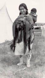 Arapahoe woman Ft. Washakie, Wyo :: Photographs - Western History