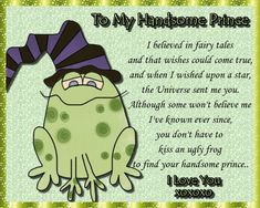 A cute and quirky card for your handsome prince. Free online To My Handsome Prince ecards on Love Flirting Humor, Flirting Quotes, Funny Quotes, Romantic Words, Romantic Love, 123 Greetings, Handsome Prince, Valentine Day Cards, Valentines