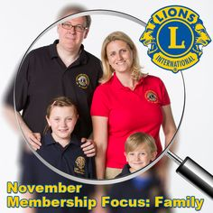 November Membership Focus: Family http://lion.ly/Ouxyc