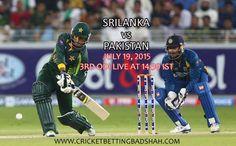 Sri Lanka vs Pakistan in 2015