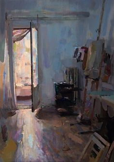 Carlos San Milan, Morning (Interior #110) on ArtStack #carlos-san-milan #art