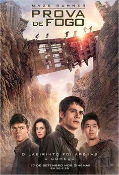 Baixar Maze Runner: Prova de Fogo – Após escapar do labirinto, Thomas (Dylan O'Brien) e osgarotos que o acompanharam em sua fuga da Clareira precisam