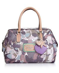 GUESS Handbag, Airun Box Satchel - Handbags & Accessories - Macy's