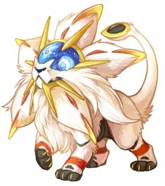Solgaleo http://sketchbook.wittastic.com/post/144310186198/some-adorable-transparent-legendaries-for-your