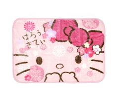 Hello Kitty Blanket Shawl: Sakura