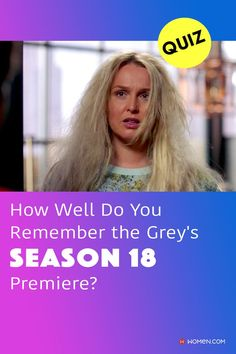 This trivia quiz will test your knowledge on how well you were paying attention to the Grey's Anatomy Season 18 premiere. #nickmarsh #spolieralert #greys #greysanatomy #jowilson #blondejowilson #greysquiz #greysanatomyquiz #greysseason18
