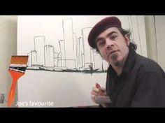 Comment peindre une Ville à la peinture acrylique