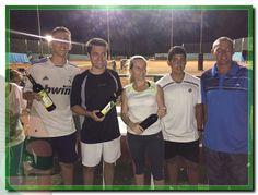El Equipo de Super Julia se consagró Campeón del Torneo Interempresas de Tenis que finalizó este Jueves.