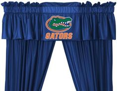 University of Florida Gators Drapes and Valance