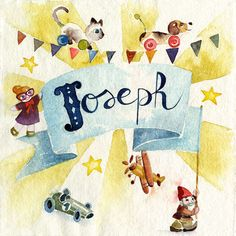 Blule - Bonjour! - Joseph. Baby birth announcement N°2