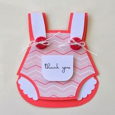Imaginisce Blog: Baby Thank-you Card