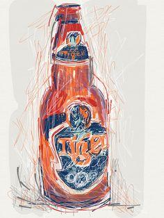 Tiger Beer by Jambo julie, via Flickr