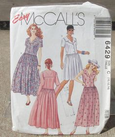 1993 Uncut  Easy  McCall's Pattern 6429 by lovelylovepatterns, $4.25