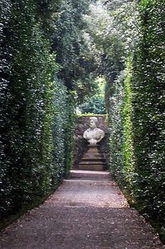 Boboli Garden Alcove, Florence, Italy