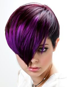 THIS purple is what color my hair will be. hehehe. blame it on my husband.