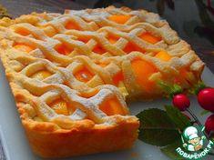 Нежный персиковый пирог - кулинарный рецепт