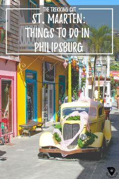 Travel Guide to Philipsburg in a Day | St Maarten | Caribbean Travel | Sint Martin | Caribbean Things To Do |