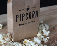 Pip Corn Packaging Design