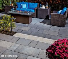 Cozy outdoor living space with slabs Outdoor Living, Outdoor Decor, Living Spaces, Cozy, Backyard, Landscape, Relaxation, Nice, Melville