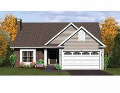32 Best small house plans images | Country house plans, Little house  E David Wiggins House Plans Html on