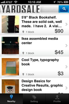 Yardsale for iOS might be the quickest way to sell all of the stuff sitting around your house.