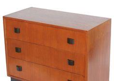 Art Moderne Low Boy Dresser Set by Gilbert Rohde 5