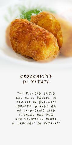 Crocchette di patate - La consistenza incontra la leggerezza #Antoninochef