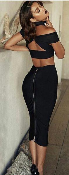 Sexy black dress 9999