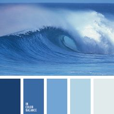 Marine refreshing palette. Smooth color transitions blue hue create perfect harmony. Dark blue colors excite and intrigue, as the very depths of the sea. They are appropriate for decoration nightclub. Lighter shades of blue soothe and tone for peaceful contemplation. They are often used for decoration of holiday homes or hotels on the beach.
