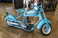 CUSHMAN EAGLE  MOTORCYCLE / SCOOTER 1952