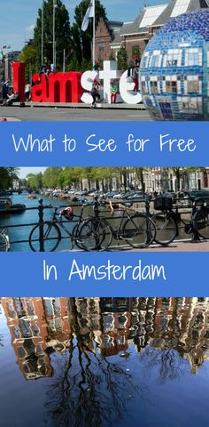 What to see for free in Amsterdam. So much more to Amsterdam than then infamous red light district. : What to see for free in Amsterdam. So much more to Amsterdam than then infamous red light district. Visit Amsterdam, Amsterdam City, Amsterdam Travel, Amsterdam Netherlands, Amsterdam Red Light District, Amsterdam Fashion Summer, Amsterdam Things To Do In, European Vacation, European Travel