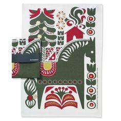 Marimekko Hevonen Horse Tea Towel